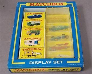 1969 Matchbox display set