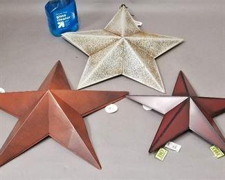 modern tin star decor