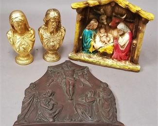 several religious items