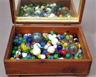 nice vintage and antique marble lot - several shooters