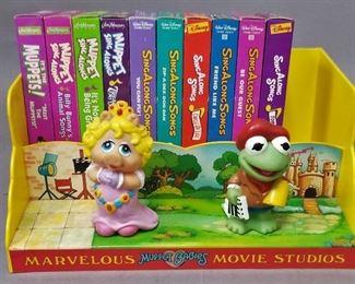 hard to find Muppet Babies Movie Studio set