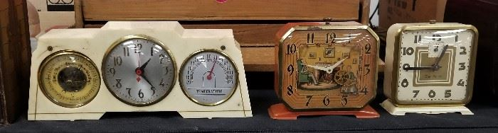 more vintage clocks