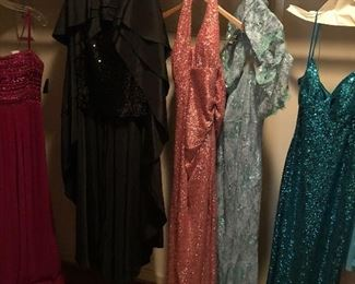 New evening gowns SPECIAL SALE $25 EACH!
