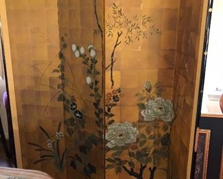 Large Asian screen, room  divider