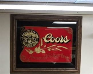 Coors Beer Sign