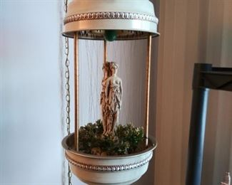 Vintage Mineral Oil Hanging Rain Lamp
