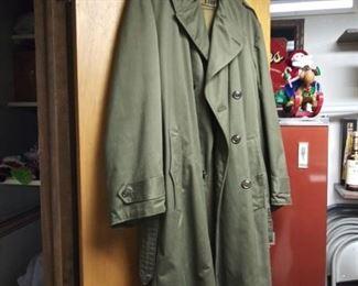 Heavy Duty Military Trench Coat