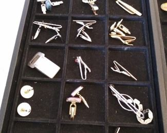 Tie Clips and Cuff Links