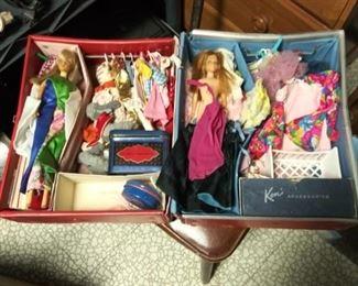 Vintage Barbie Case Full