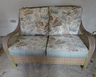 Patio furniture (2 seater) that can be left outdoors all year-round.