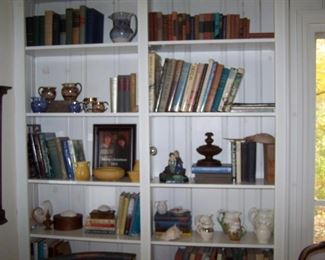 YELLOW ROOKWOOD, LUSTERWARE, BOOKS & MORE