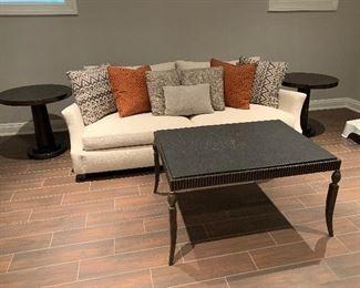 "Coffee table 40""x28x22 Bernhardt sofa"