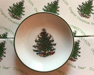 Cuthbertson Christmas China Set