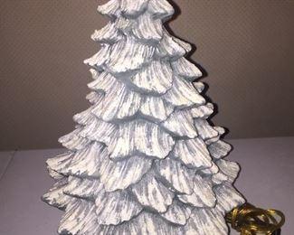 Open Back Ceramic Christmas Tree
