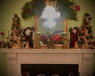 It's beginning to look a lot like Christmas...high end décor on display at just the right time of year!