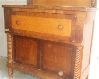 This handsome desk was from the estate of Charles Wheeler
