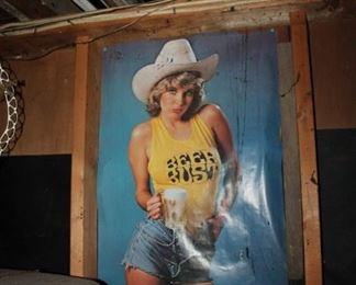 Vintage Beer Bust poster