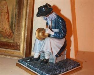 Porcelain figurine by Luigi Fabris