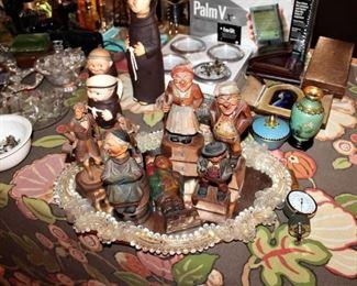 Carved wood ANRI figurines