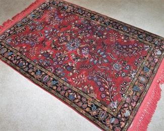 Vintage accent rug