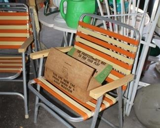 Sweet vintage lawn chairs