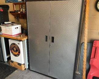 Gladiator metal storage cabinet