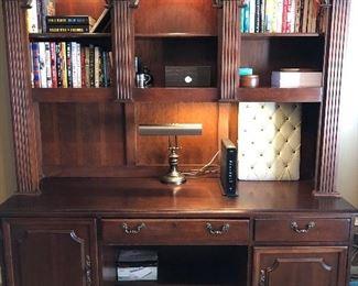 Hooker desk, lighted