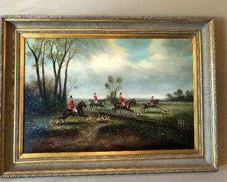 Original oil - large painting