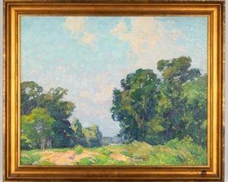 George Renouard (American, 1885 - 1954) Landscape
