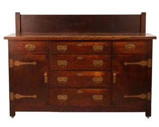 Rare Roycroft #3 Sideboard