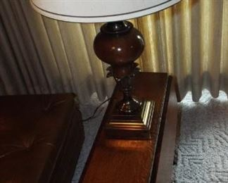 Snall Drop Leaf Table & Stiffel Lamp