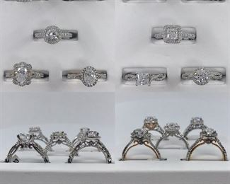 Authentic Verragio Engagement Ring Mountings 40 Available at 70 off Retail