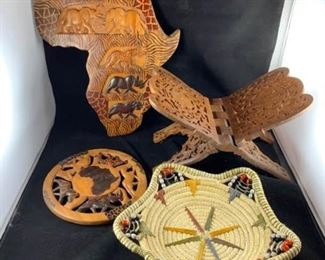 Artisan Hand Carved Pieces