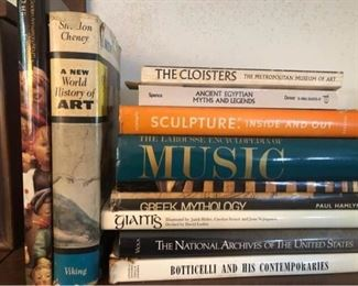 Arts and Music Books