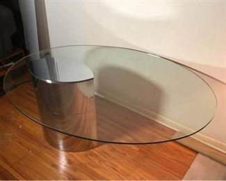 Knoll Oval Lunario Table