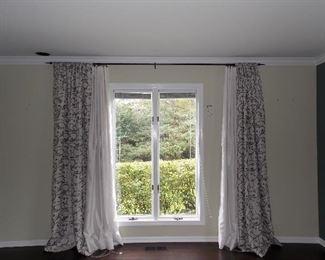 window treatments and Pella windows