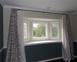 drapes  newer Pella windows