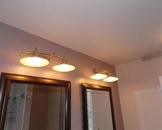 mirros  light fixtures