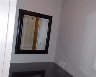 Makeup table  mirror  light fixture