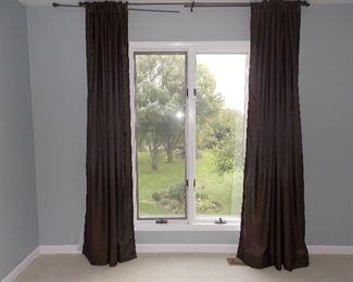 curtains  Pella windows  carpeting