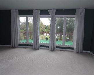 Window Treatments  Pella windows  Carpeting