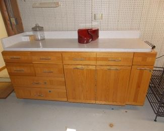 work bench cabinets