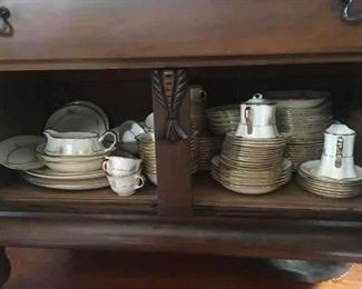crooksville china USA  large set