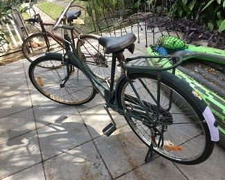 1950? all originals Avon bike made in India $150