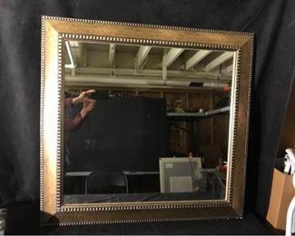 0371gGilded Framed Wall Mirror