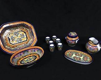 002SH San Sebastian Mexican Pottery