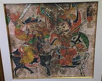 022SH Chinese Warrior Painting