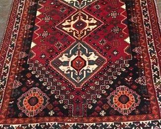 76 Shiraz Wool Rug Iran
