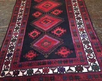 077h Hamadan Wool Rug Iran