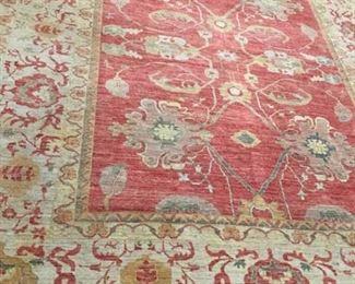 078h Baktiari Wool Rug Pakistan